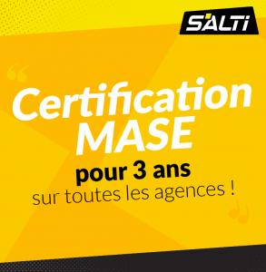 La certification Mase pour Salti